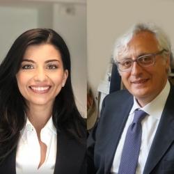 Marco Ferretti ed Eva Panetti